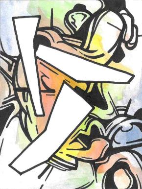 """Maurice Utrillo (1883-1955) """"Paysage à Montmagny 'Val d'Oise)"""" Circa 1907 Signé en bas à droite : 'Maurice, Utrillo, V,' Huile sur carton marouflé sur panneau Dim. : 37,5 cm x 46 cm."""