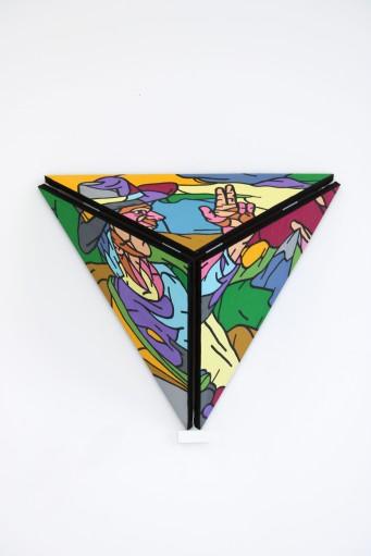 Philippe MARCUS -La pyramide qui s_ouvre - 1