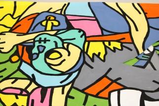 Philippe MARCUS - Peinture puzzle -2