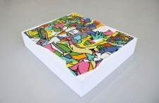 Philippe MARCUS - Peinture puzzle -4