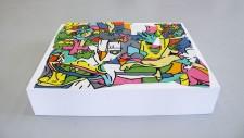 Philippe MARCUS - Peinture puzzle -5