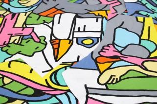 Philippe MARCUS - Peinture puzzle -6